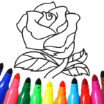 Valentines love coloring book MOD Unlimited Money