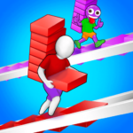 Bridge Run Stairs Build Competition MOD Unlimited Money