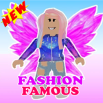 Fashion Famous Frenzy Dress Up Runway Show obby MOD Unlimited Money