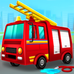 Firefighter Fire Rescue And Car Wash Garage MOD Unlimited Money