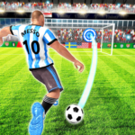 Real Football Player Soccer Strike League Game MOD Unlimited Money