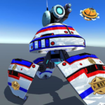 US Police Robot Shooting Crime City Game MOD Unlimited Money