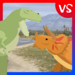 T-Rex Fights Triceratops (MOD, Unlimited Money) 0.7